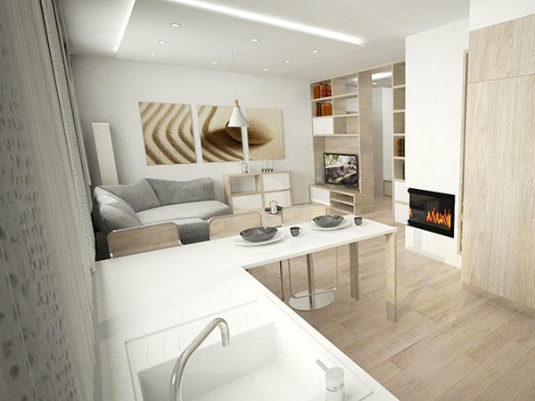 Ako vyriešiť komplikovanú dispozíciu trojizbového bytu