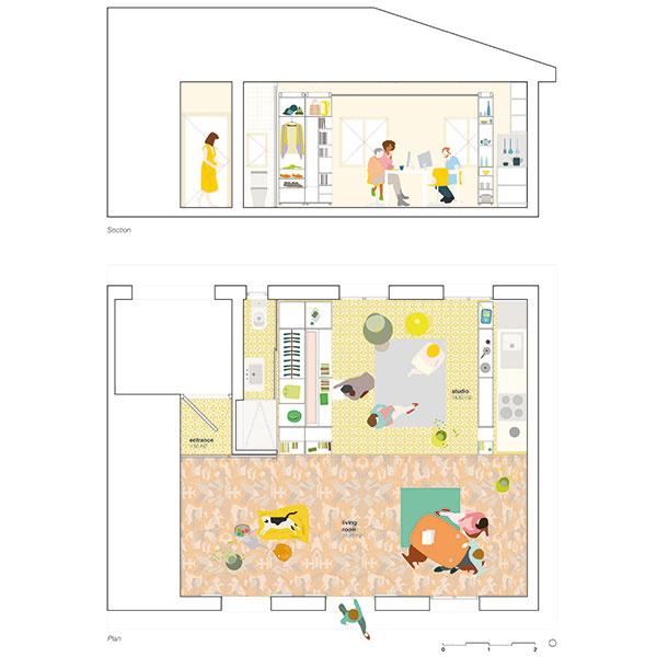 Jeden interiér, mnoho funkcií