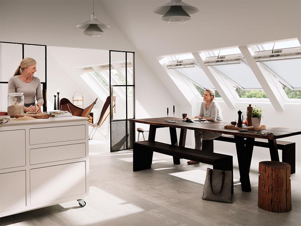 Za približne 15 minút sa vzduch v kuchyni dokáže vymeniť bez veľkých tepelných strát.