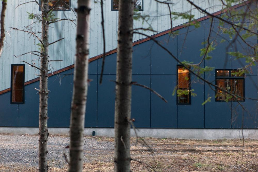 Netradičný dom uprostred lesa