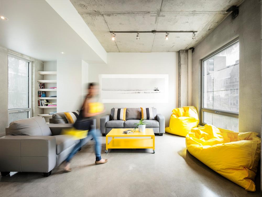 Originálny projekt moderného študentského ubytovania