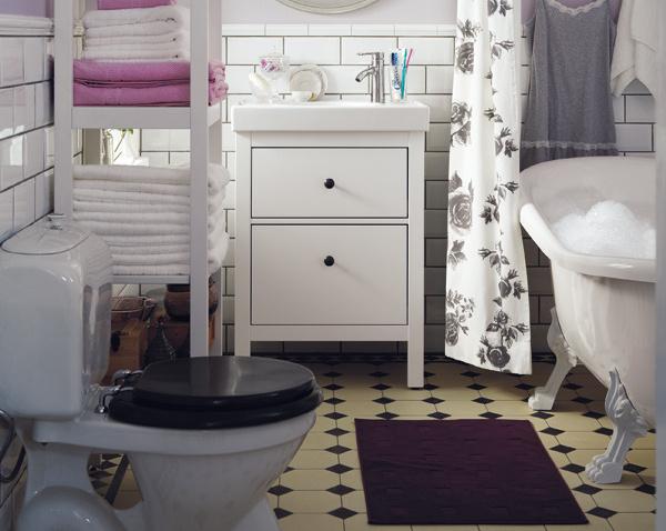 Vintage kúpeľňa