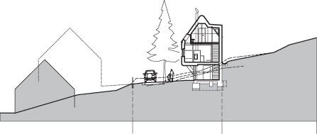 Moderný dom nad Palcmanskou Mašou ako stvorený pre oddych