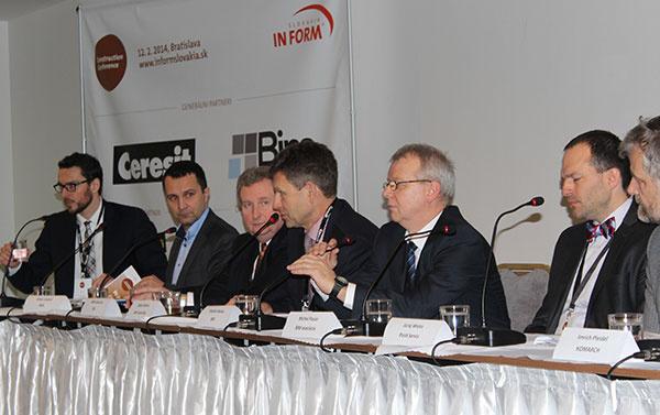CONSTRUCTION CONFERENCE, 04. 02. 2015, Bratislava