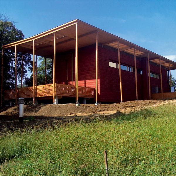 Ideálna strecha pre nízkoenergetický dom