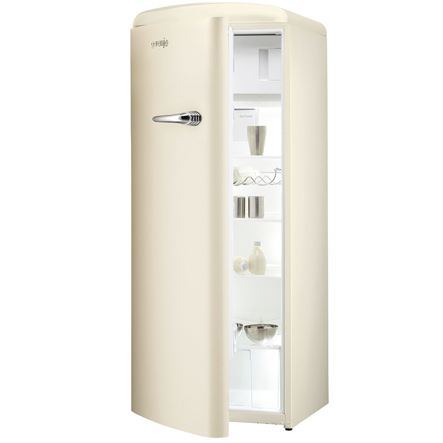 Retro chladnička Gorenje RB60299OC-L, trieda A++, 779 €, www.gorenje.sk