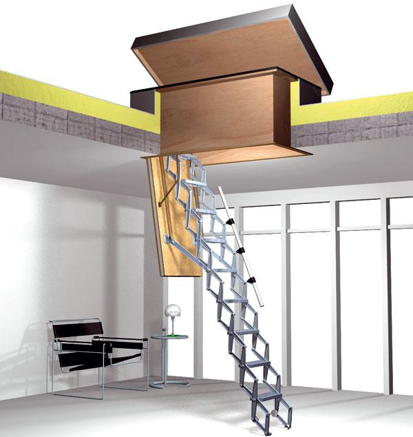 Zateplený výlez pre ploché strechy