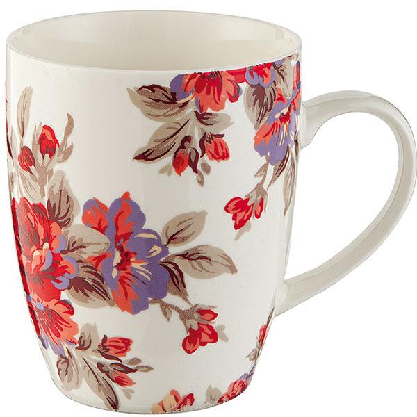 Kvietkovaný hrnček od značky F&F Home, keramika, 1,79 €, Tesco