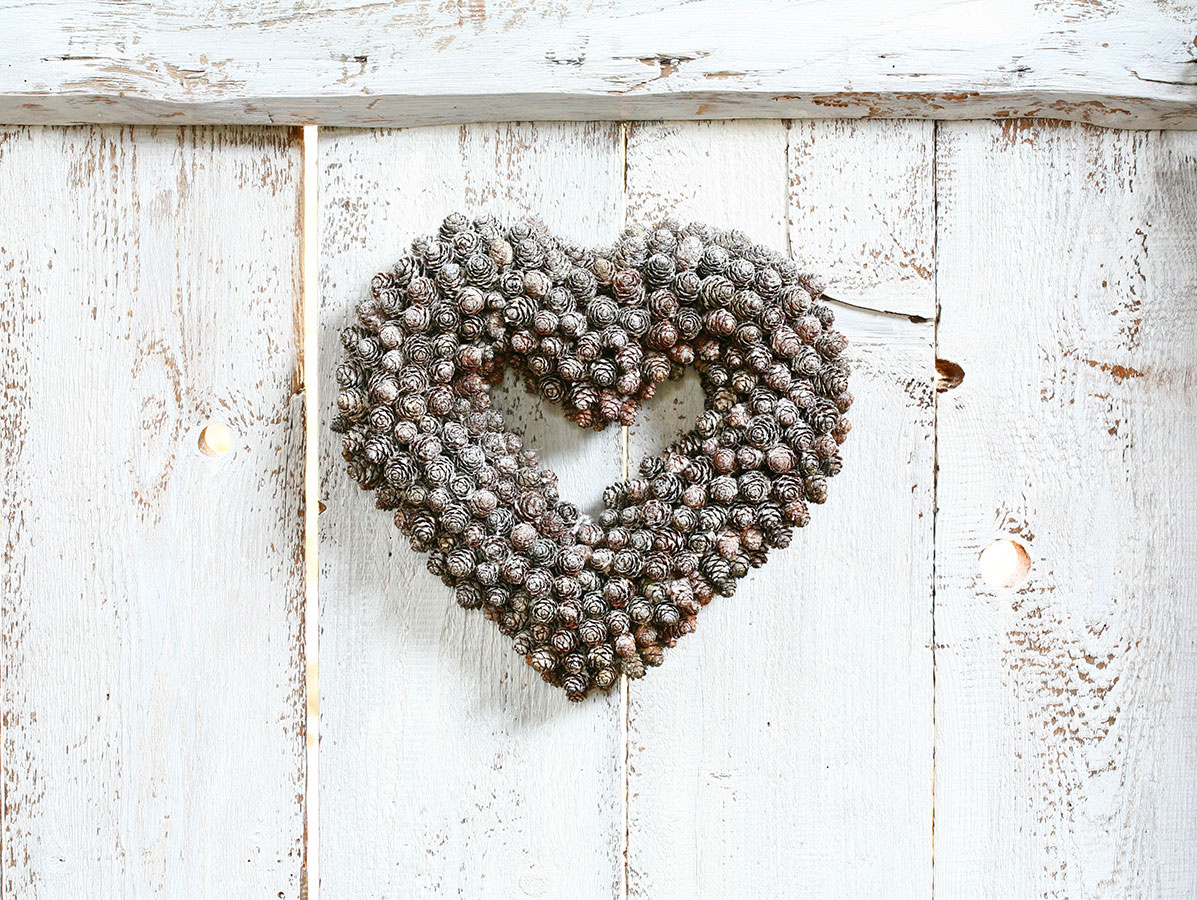 Zasnežené srdce