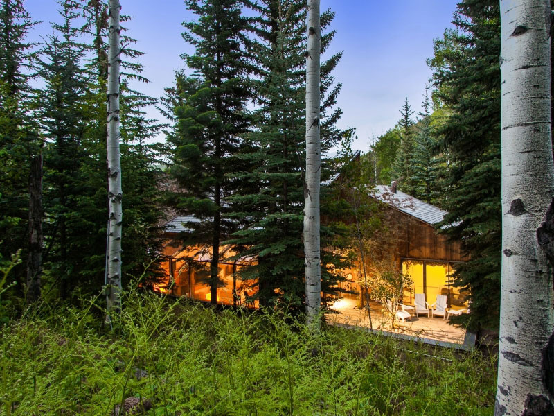 """Tento drevodom vlastne možno vnímať ako luxusnú chatu, ktorej neprekáža hustota lesa, využíva ju vo svoj prospech, prispôsobuje okoliu svoj dizajn, nie naopak. Možno preto v prírode pôsobí ako romantické miesto plné tepla (Svoju """"malú"""" zásluhu majú na tom """"malé"""" okná, ktoré posielajú do tmy ten správny odtieň svetla ), ktoré sa väčšine z nás páči. Čo naň hovoríte vy?"""
