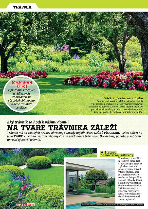 Marcové vydanie UROB SI SÁM je tu! Rekonštrukcia záhrady pri dome!