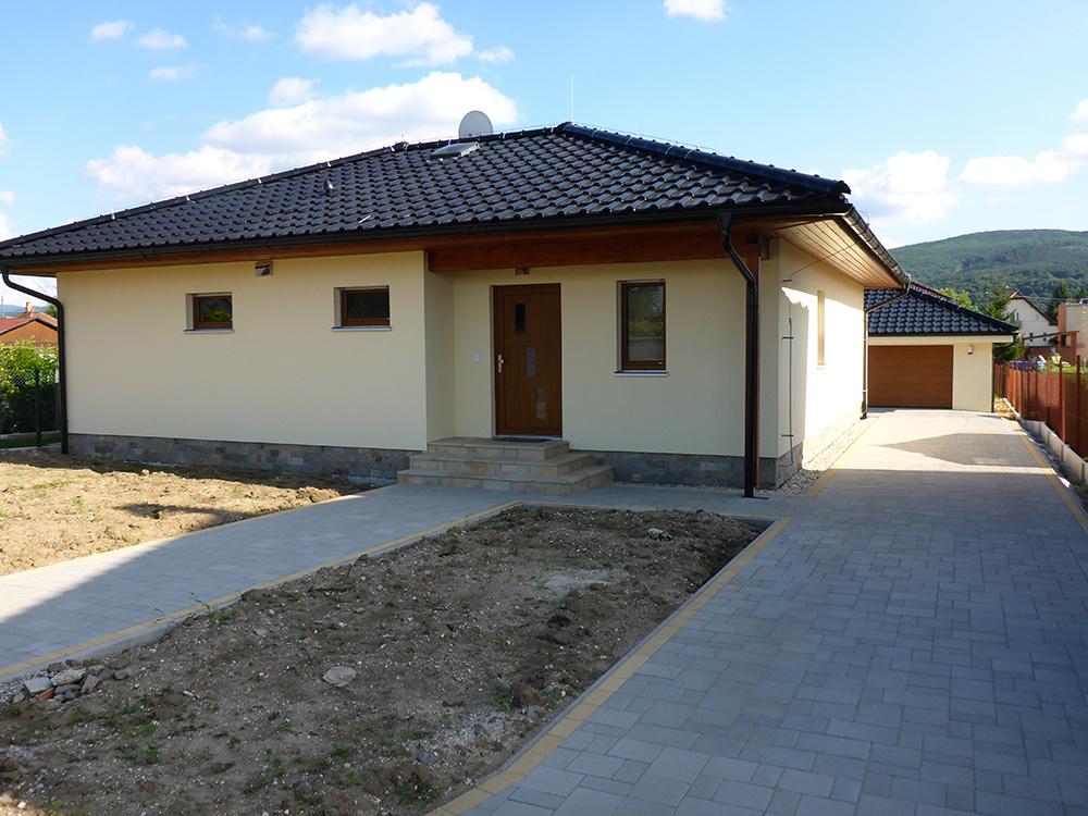 Montovaný bungalov RD Harmony 7, Haas Fertigbau, s.r.o.