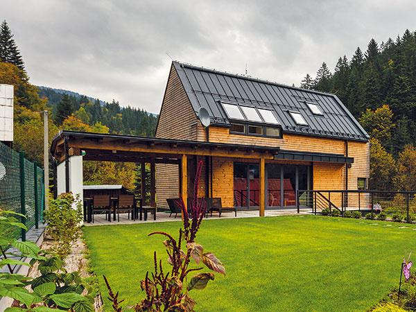 Praktický dom s modernou otvorenou dispozíciou spod Javorníkov