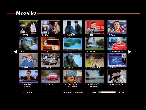 Televízna mozaika