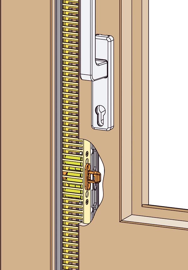 Bezpečné vetranie cez zdvíhavo posuvné dvere