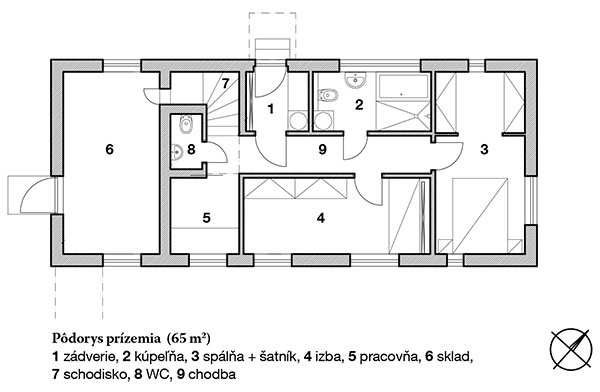 Výnimočnú drevostavbu v Kovároch nechal vyniknúť zložitý pozemok