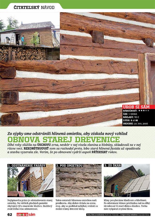 Aprílové vydanie časopisu Urob si sám v predaji! Záhradný altán s grilom.