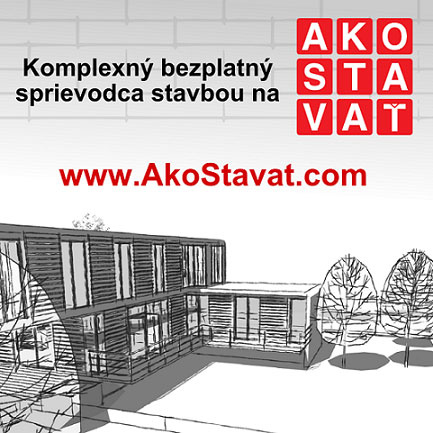 Ešte lepší, stavebný poradenský portál AkoStavat.com