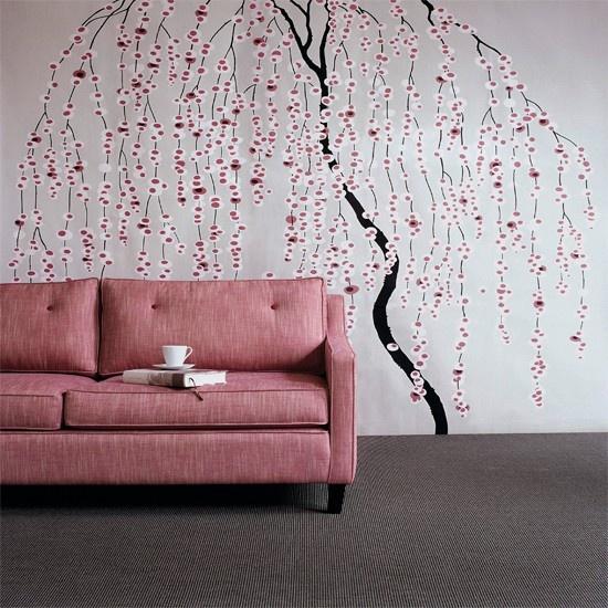 Inšpirácia: obývacia izba◦ružová◦sivá◦textil