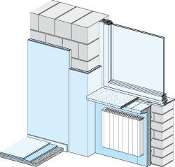 Suchá omietka alebo opláštenie sadrokartónom je elegantný spôsob, ako zo strany interiéru upraviť povrch stien napríklad pri rekonštrukcii.