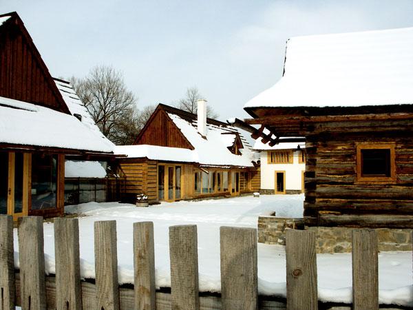 Montované domy na báze dreva