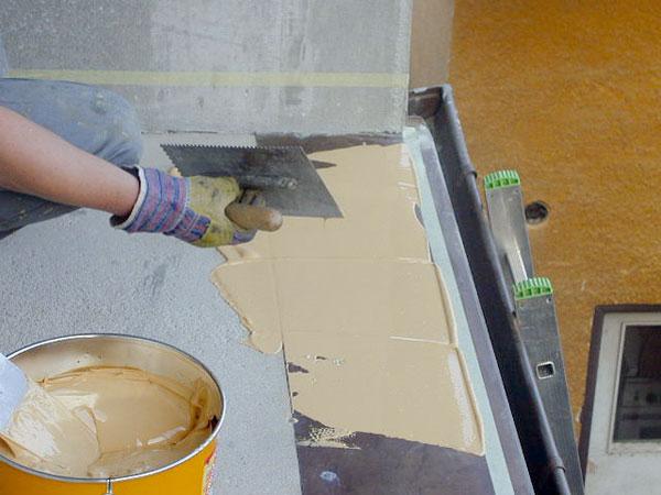 Obnova povrchu terás abalkónov