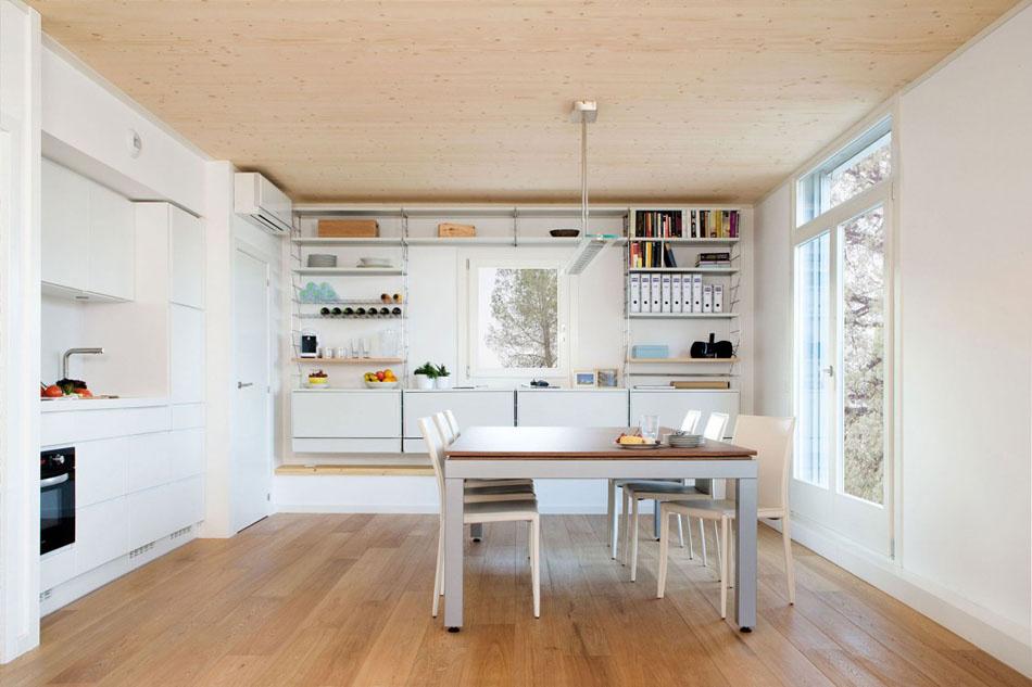 Modulový dom z dreva dal majiteľom slobodu