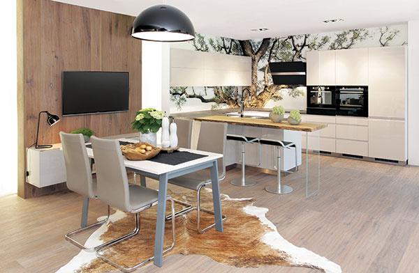 Kuchyňa v prírodnom štýle: Stavte na drevo