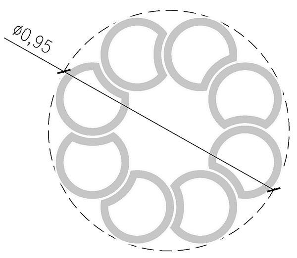 Výstavba jahodovej pyramídy o priemere 1,58 m