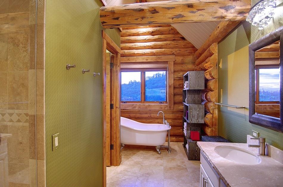 Zrub poskytuje majiteľom nadštandardný komfort