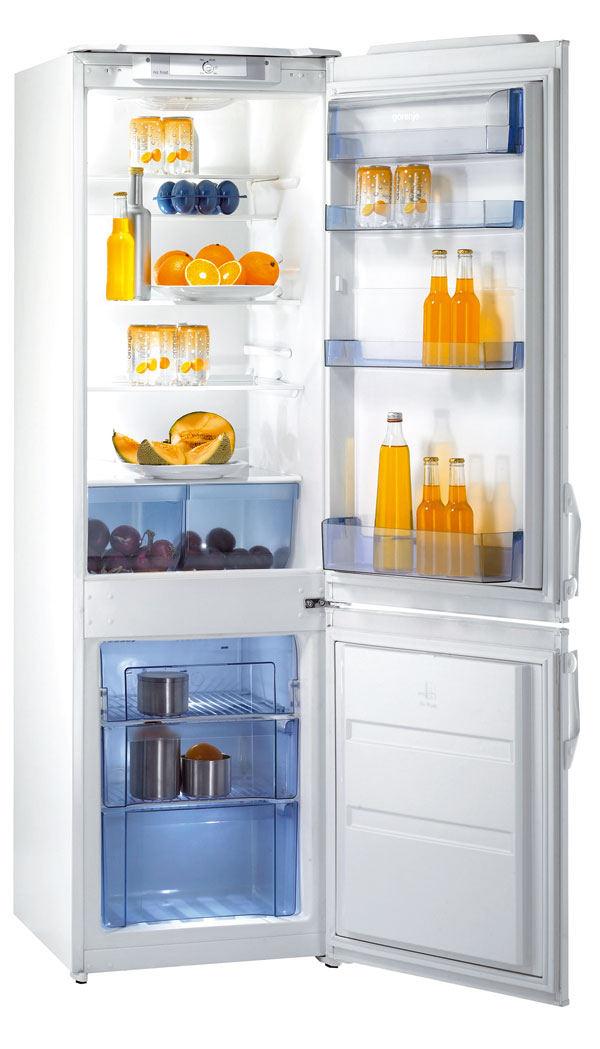 Štíhla chladnička: nielen do malej kuchyne