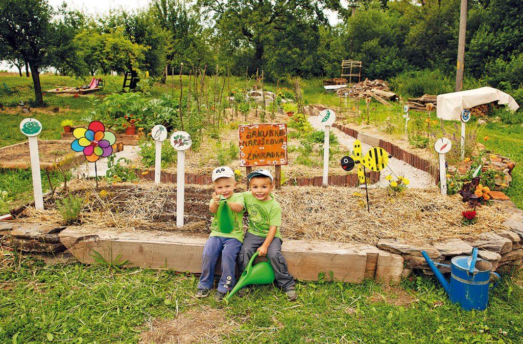 Ako sme v našej záhradke vštepili deťom lásku k prírode