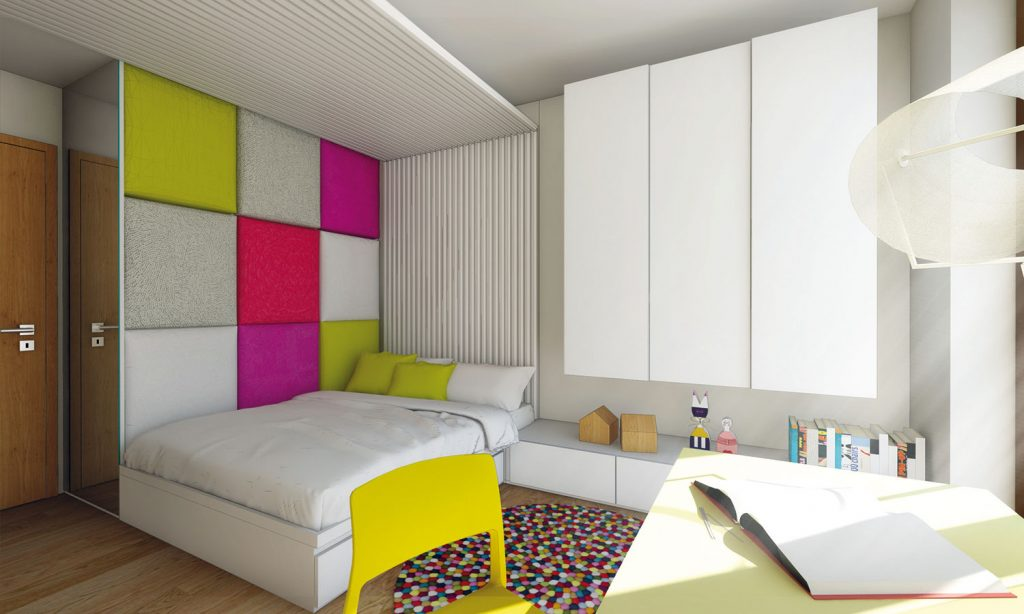 Ako navrhnúť izbu pre malú školáčku