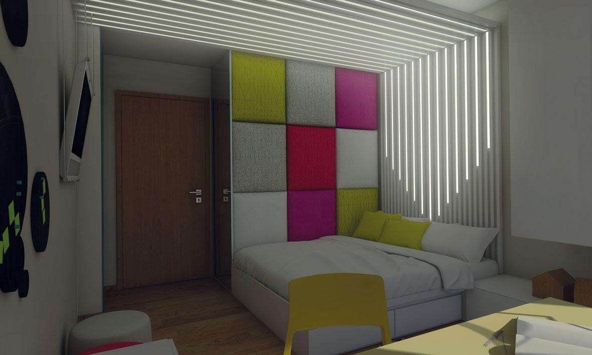 Farbu podsvietenia lamiel je možné striedať. Jednoduchým prepínaním bude svietiť teplou bielou, modrou alebo ružovou farbou.