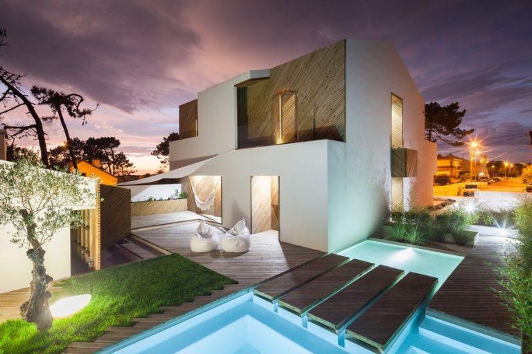 Majiteľ sa chcel neustále cítiť ako na dovolenke, tak si dal postaviť tento dom