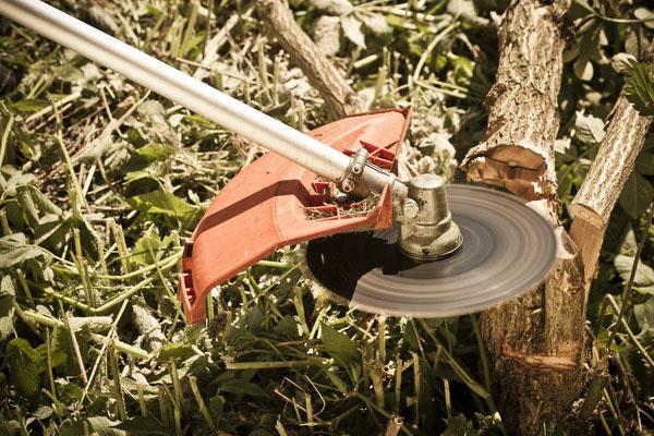 S 80-zubým kotúčom je možné bez problémov zlikvidovať náletové stromčeky a iné slabšie dreviny