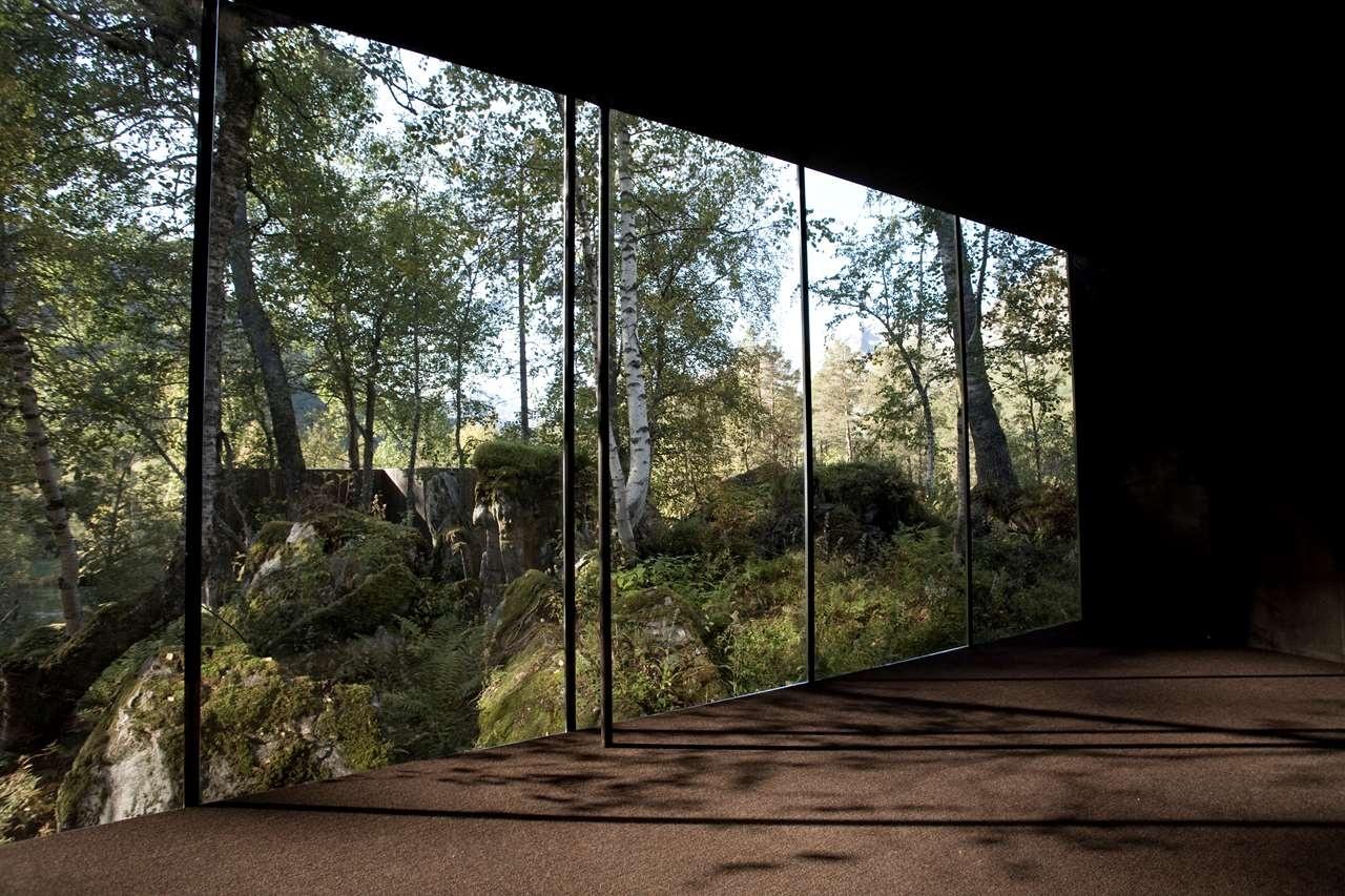 Okúzľujúce priestory, v ktorých sa natáčala sc-ifi dráma Ex Machina
