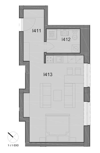 Ako najlepšie optimalizovať priestor 36m2 garsónky