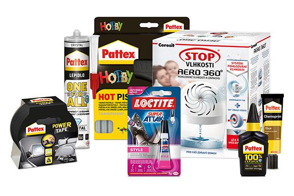 Vyhrajte balíček lepidiel Pattex, Chemoprén a Loctite Super!