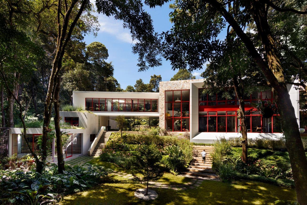 Dom ako súkromná galéria v prírode