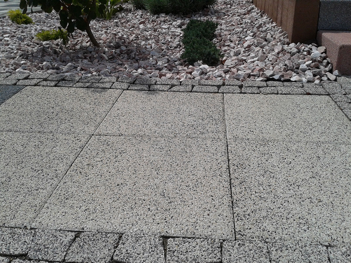 Aqua flair terasové platne
