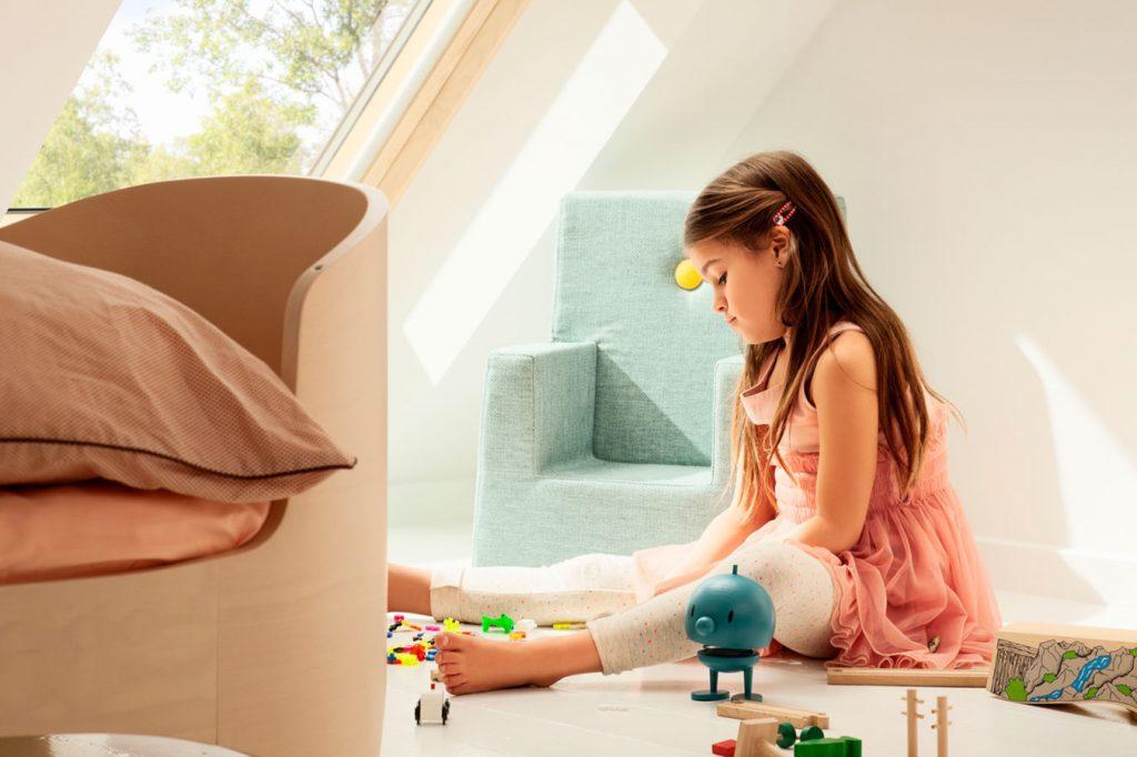 Ako presvetliť detskú izbu