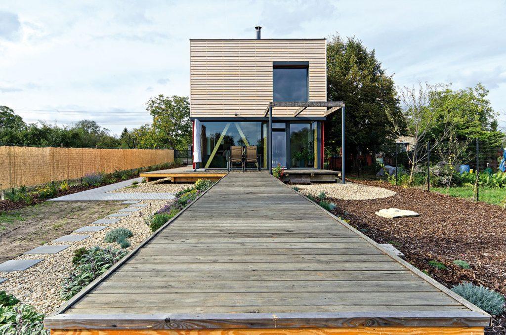 Energeticky pasívny rodinný dom v Hodoníne mali hotový za štvrť roka