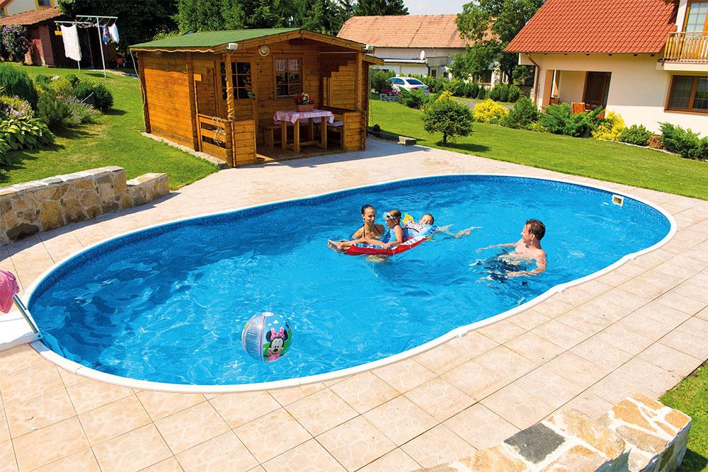 Jedinečnosť bazénov Azuro spočíva v tom, že ich môžete voľne postaviť na povrchu, alebo aj úplne alebo čiastočne zapustiť do zeme. Teraz ich v akciovej ponuke v spoločnosti Mountfield môžete zakúpiť za ceny od 235 €.