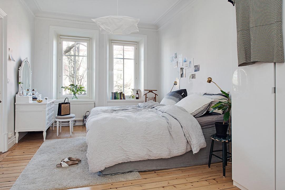Trojizbový byt v škandinávskom prevedení