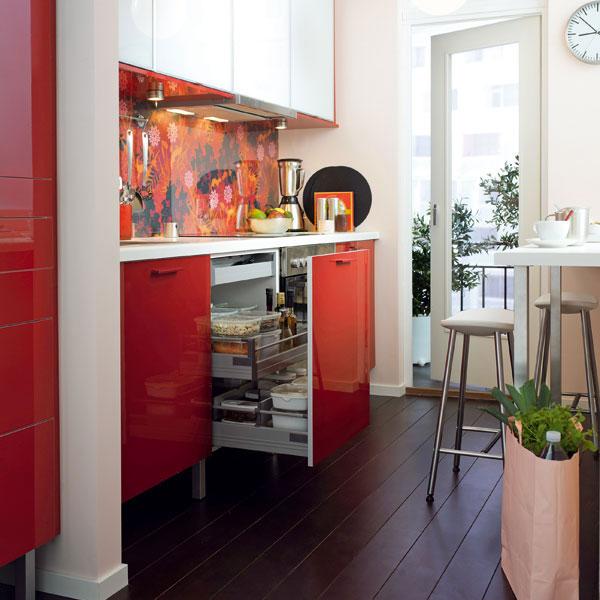 Nábytok a spotrebiče: do malého bytu – kuchyňa
