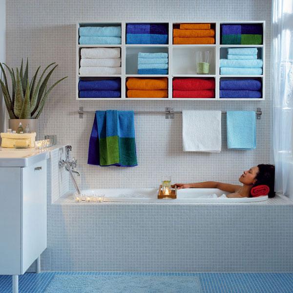 Nábytok a spotrebiče: do malého bytu – kúpeľňa