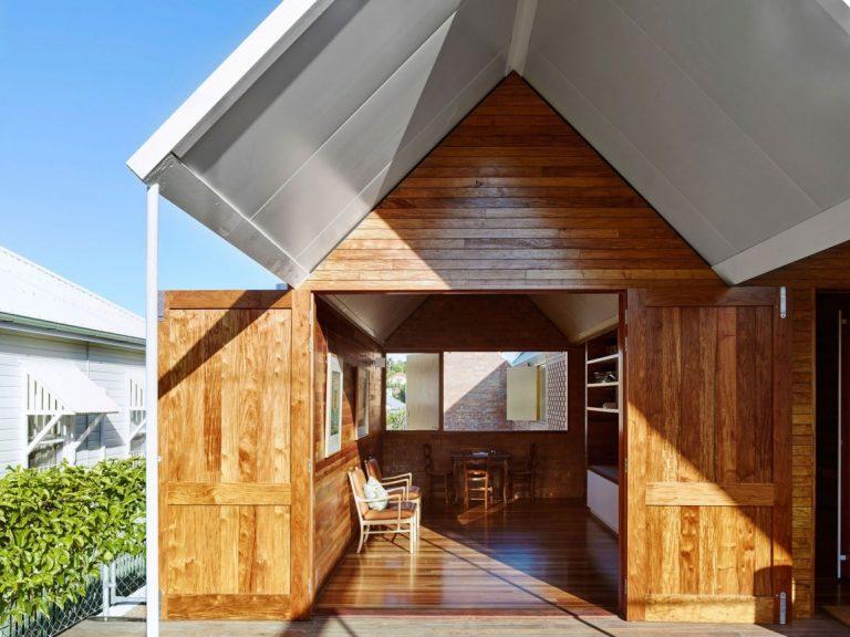 Dômyselný ekologický dom s rustikálnou atmosférou
