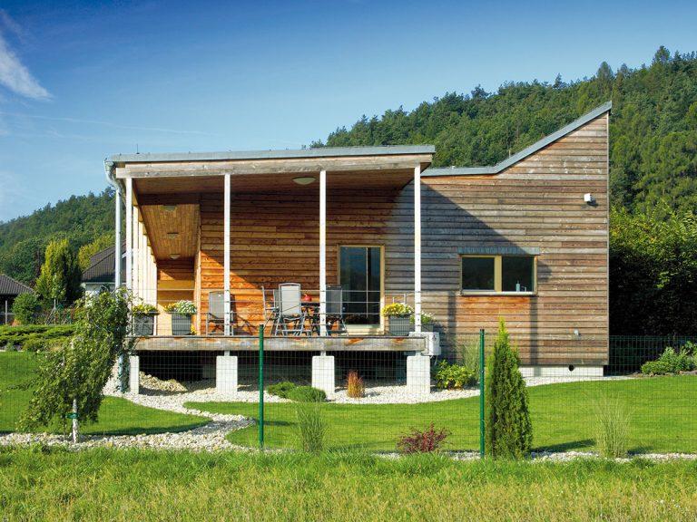 S jednoduchou drevostavbou dosiahli štandard aktívneho domu