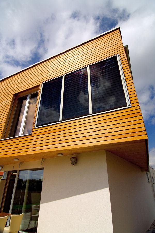 Drevené fasády